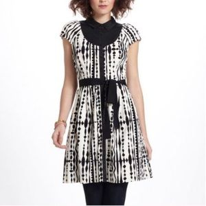 Black and White Anthropologie Dress